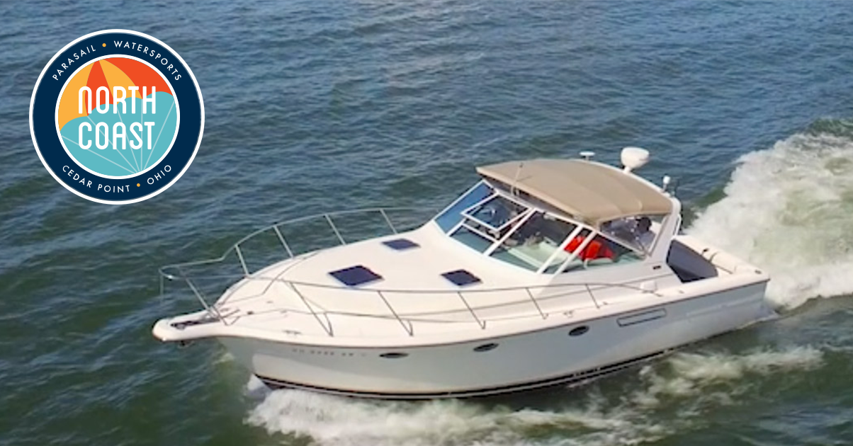 Lake erie charter boat rental north coast parasail for Put in bay fishing charter