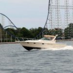 Charter Boat Rental Cedar Point Sandusky Ohio North Coast Parasail