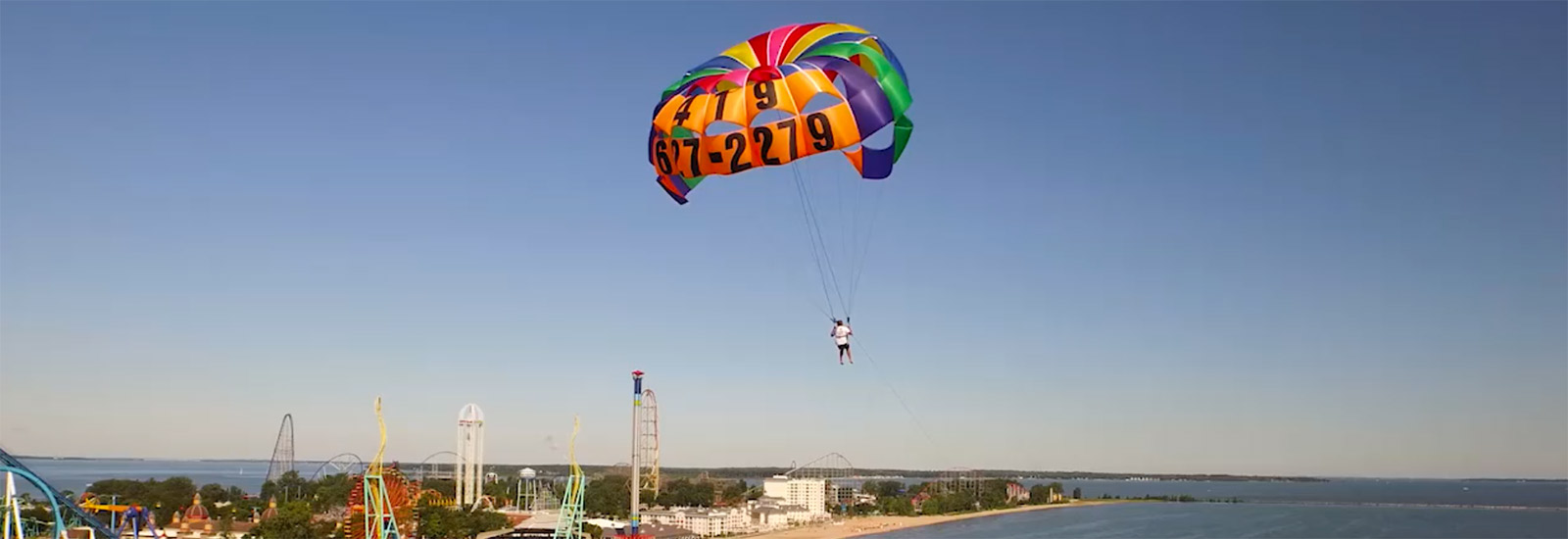 North Coast Parasail Rentals Lake Erie